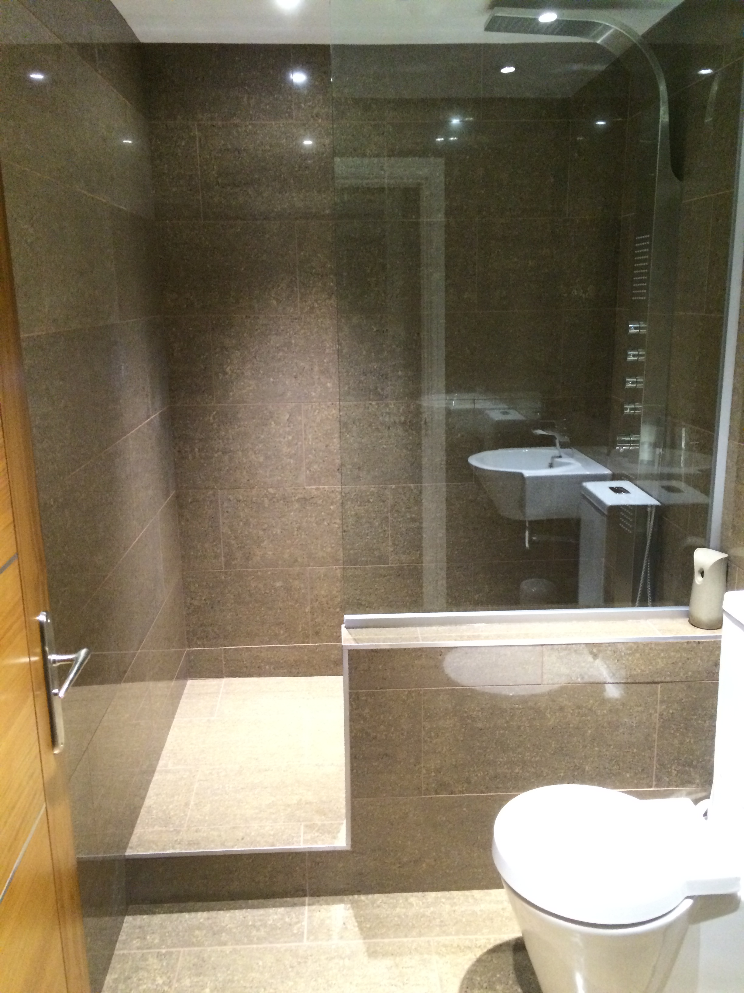 Lovely Shower Room Lights Pictures Inspiration - Bathroom with ...